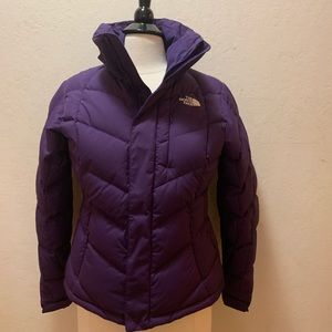 The North Face Women's Hooded Jacket-purple